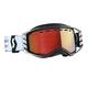 Scott Goggle Prospect Snow Cross  black/white enhancer red chrome