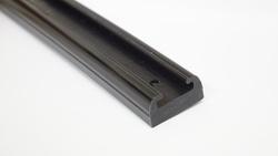"Liukumuovi Musta 163""  (1500mm)"