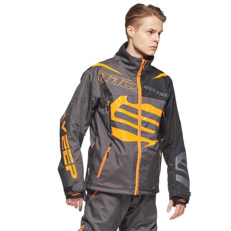 Sweep Racing Division Kelkkatakki, harmaa/musta/oranssi