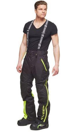 Sweep Racing Division Housu, musta/kelt./valkoinen 2XL