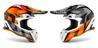 Airoh Kypärä Terminator Open Vision Shot oranssi matta