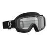 Scott Goggle Hustle Snow Cross black/grey clear
